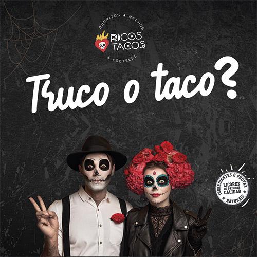 Halloween en Ricos Tacos